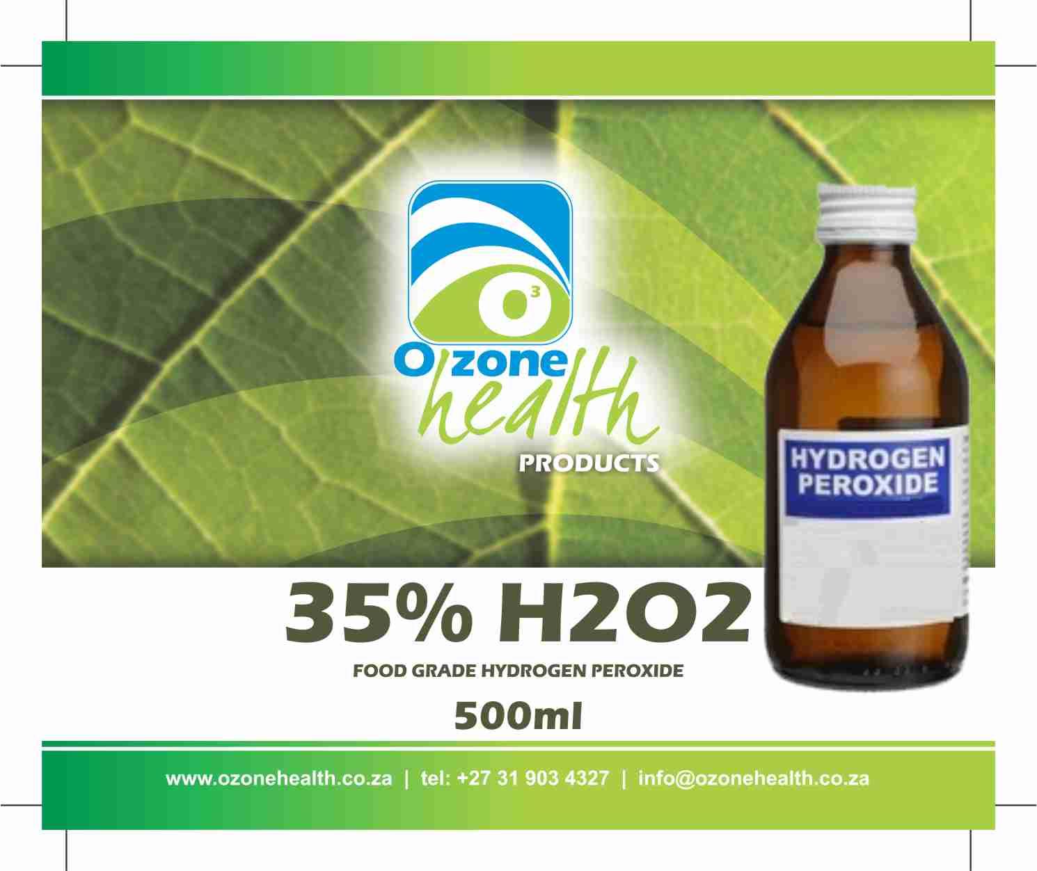 Hydrogen Peroxide - 35% Food Grade