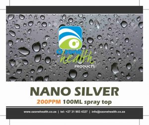 Nano Silver 200ppm - 100ml sub lingual spray
