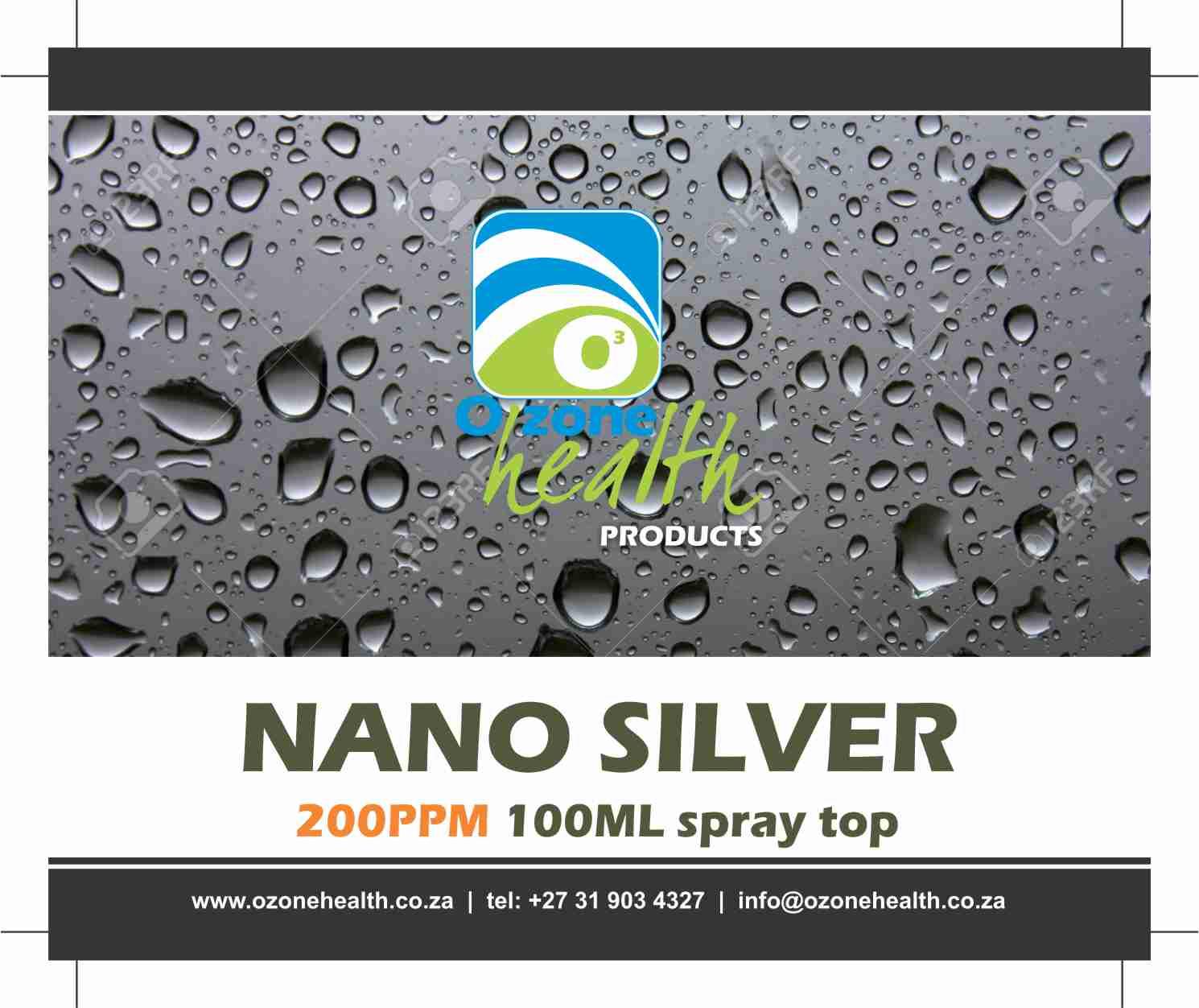 Nano Silver - 200ppm [object object] Medical Shop Silver nano 100
