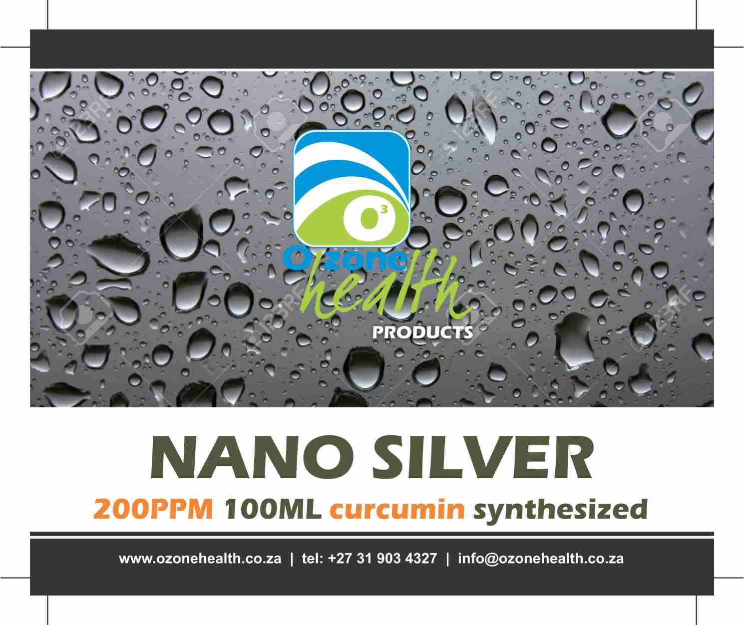 Nano Silver - 200ppm Curcumin Synthesized [object object] Medical Shop Silver nano curcumin 100