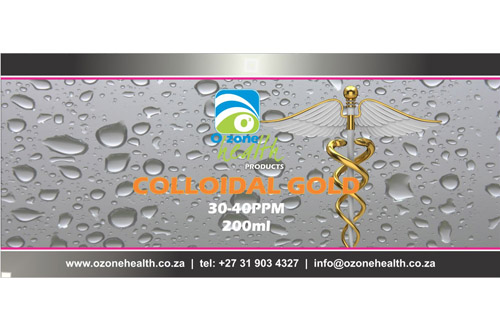 Colloidal Gold - 30-40ppm  Medical Shop Colloidal Gold     30 40ppm